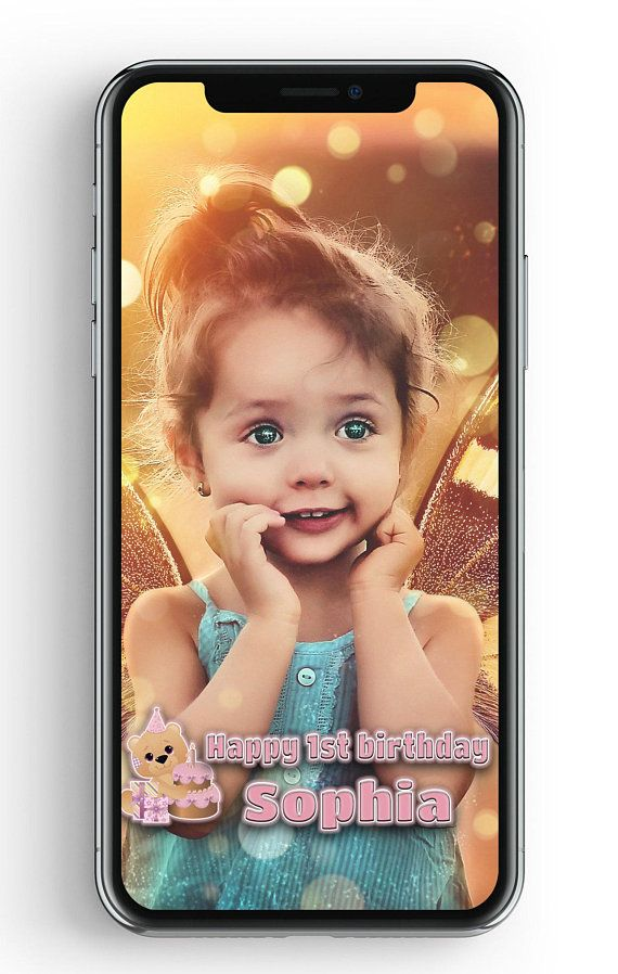 first birthday girl filter 1st birthday geofilter 1 birthday snapchat second bday filter filter for kids