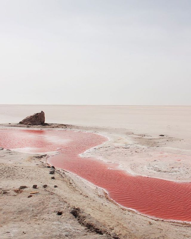 This is for real...Lake Reba, in Senegal, West Africa