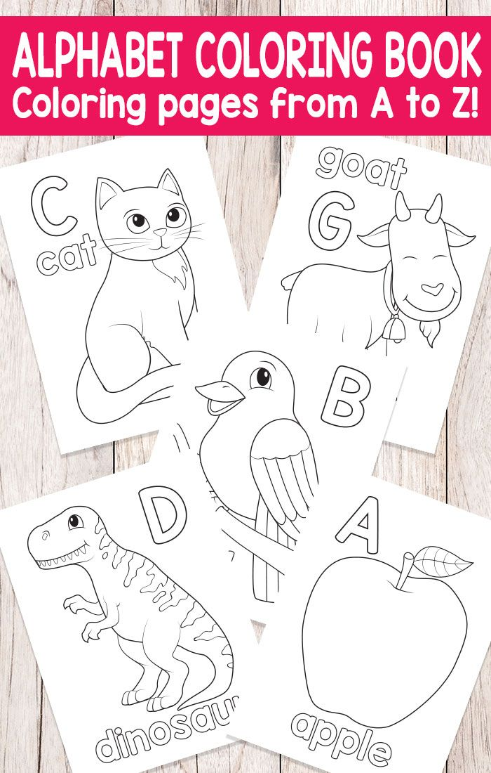 easy peasy alphabet coloring book abc coloring pages - Coloring Books For Toddlers