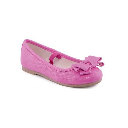Mayoral Туфли для девочки  Mayoral  — 1691р. ------------------- Туфли для девочки от известной марки Mayoral  Яркие и удобные балетки дополнят образ девочки в новом весенне-летнем сезоне. Эта модель разработала специально для девочек, любящих платья и юбки - именно с женственными моделями такие туфли смотрятся особенно хорошо. Сделаны они из легкого, но прочного материала. Комфортно садятся по ноге и не натирают.  Особенности модели:  - цвет: розовый; - плоская нескользящая подошва…