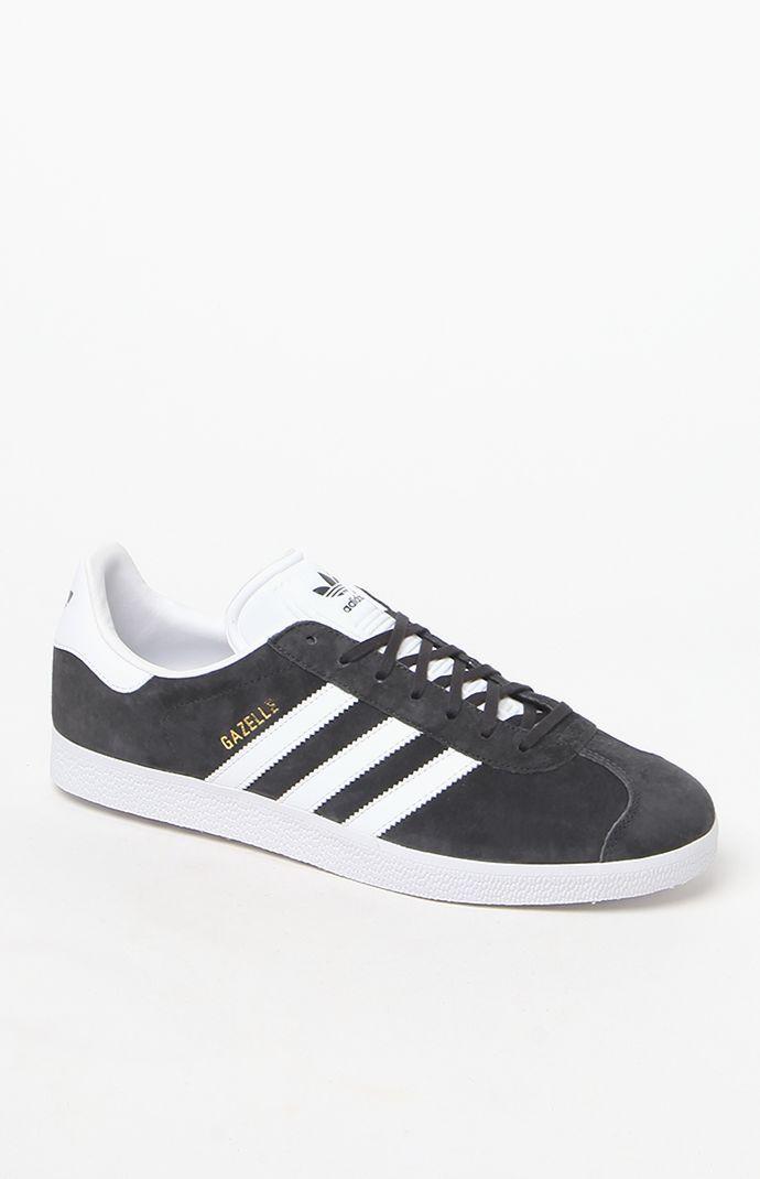 adidas Gazelle Grey \u0026 White Shoes