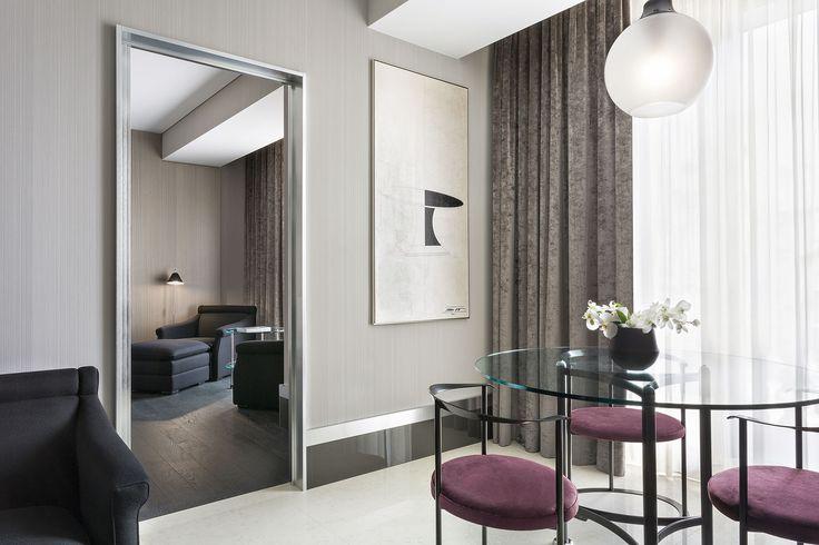 Hotel Gallia torna a splendere con l'impianto elettrico della serie Idea di Vimar. Suite made Italy.