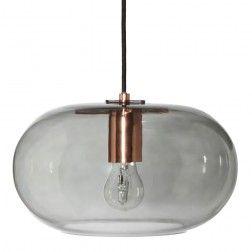 Frandsen New Kobe Pendel Smoke Glass
