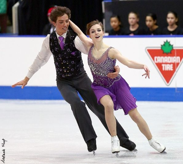 2013 Canadian Championships » Senior » Free Dance » Alexandra Paul & Mitchell Islam