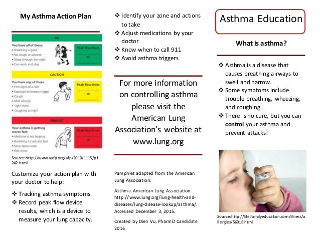 24 best Asthma \/ COPD images on Pinterest Health, Healthy living - asthma action plan