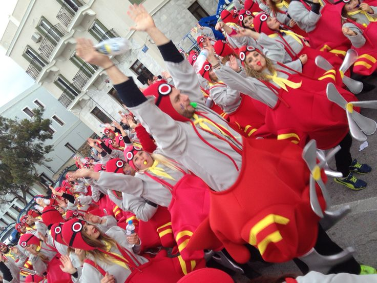 Hydroplane costume from Syros Carnival (Greece) 2015