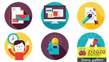 #Freebies #Icon set - Design Services - Zizaza item for