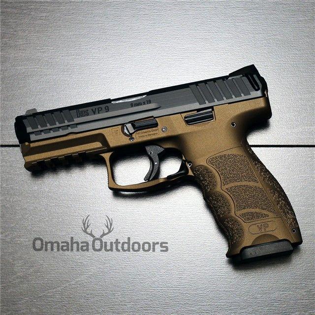 H&K HK VP9 9mm 15RD Burnt Bronze M700009-A5 NEW