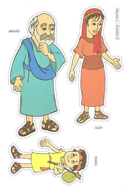 Cristãos kids: História Bíblica para crianças - Agar e Ismael (recurso visual, vídeo, desenhos para pintar, lembrancinha)