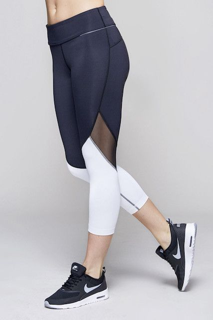 These Are The Ultimate Yoga Pants For Every Pose #refinery29 http://www.refinery29.com/yoga-pants#slide-1 With mesh panels on the backs of the knees, these leggings will always keep you cool....