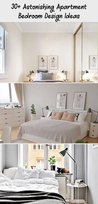 30+ Astonishing Apartment Bedroom Design Ideas #apartment ...