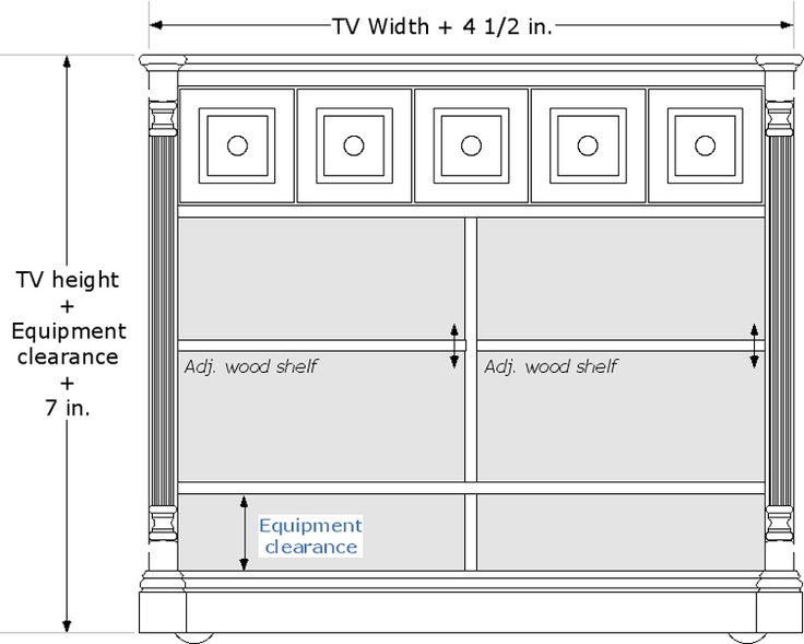 black foot of bed tv lift cabinet with swivel