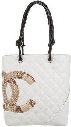 73ab34d30ff9 Chanel Python Ligne Cambon Bucket Tote | Fashion #Shopstyle in 2019 |  Fashion bags, Fashion handbags, Luxury purses