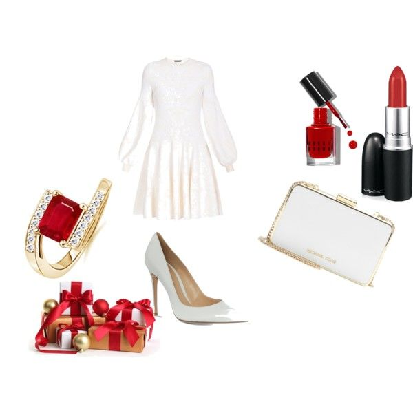 """""""white christmass"""" by fely-m on Polyvore"""