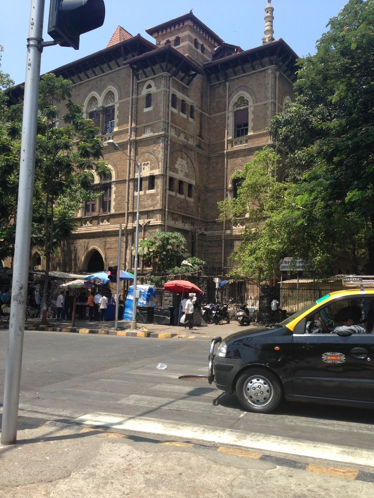 Lovely old buildings in South Mumbai