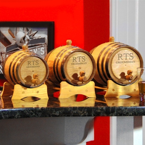 Bluegrass Whiskey Barrel :: Roll out the good times at your next big event with these American white oak Bluegrass Whiskey Barrels.
