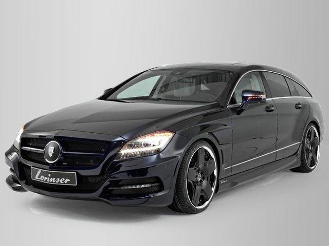 2013 Mercedes Benz CLS Shooting Brake By Lorinser Interior