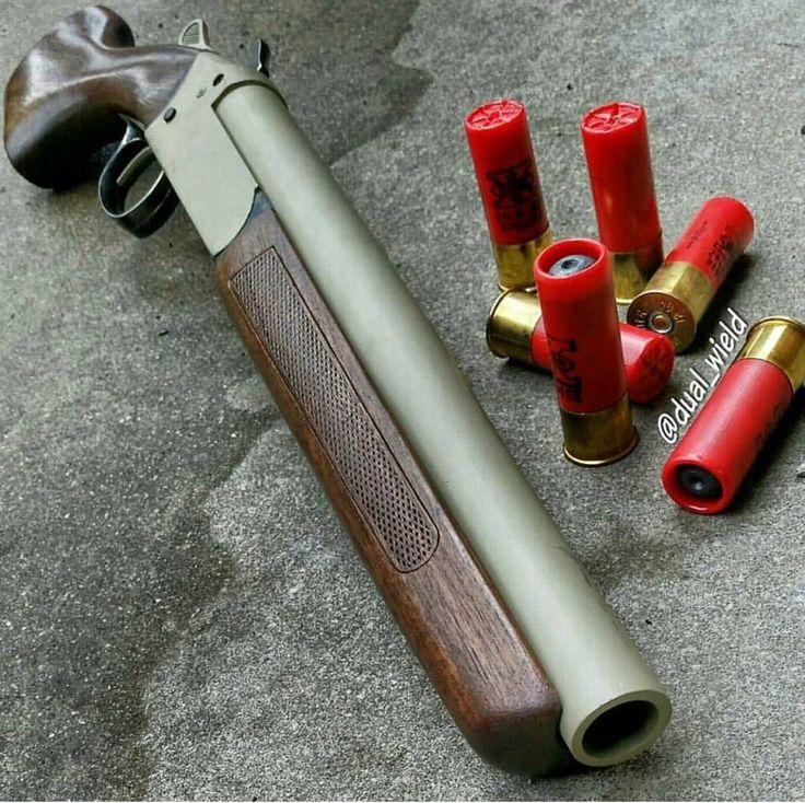 Single Shot Break Down 12G Home Defense Shotgun