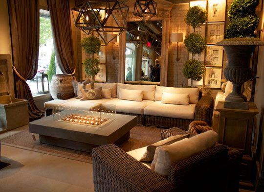 Iron Candelabra - Contemporary - living room - Restoration ...