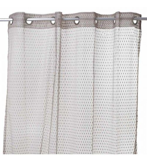 FABRIC CURTAIN  IN BROWN COLOR 140X280