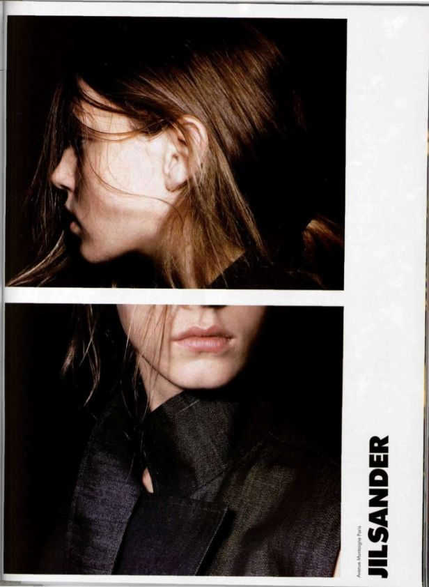 Campaign: Jil Sander  Season: Spring 1998  Photographer: David Sims  Model(s): Angela Lindvall