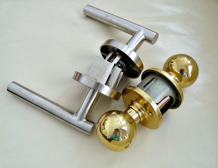 New Sure Loc Levers Vs. Our Builderu0027s Basic Gold Knobs