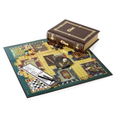 Clue Bookshelf Board Game