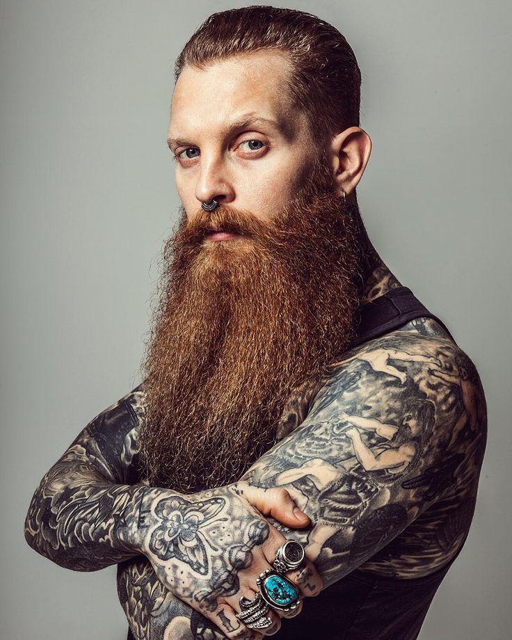 2066 best beards images on pinterest beard styles for Red beard tattoo