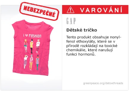 GAP tričko   #Detox #Fashion