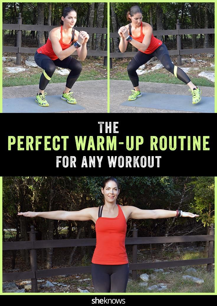 Warm-up exercise you can do before any workout, anywhere