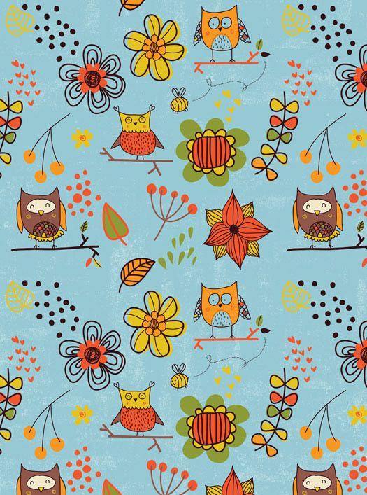 Owl Surface Pattern #owl #pattern #surface