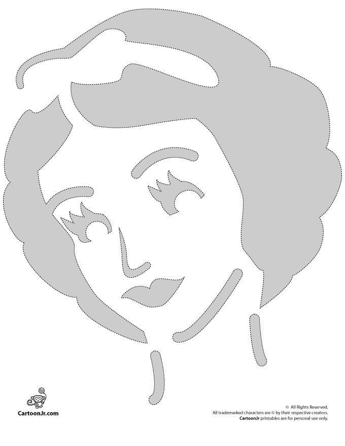 Pumpkin Stencils: Disney Pumpkin Carving Patterns Snow White Disney Princess Pumpkin Stencil – Cartoon Jr.