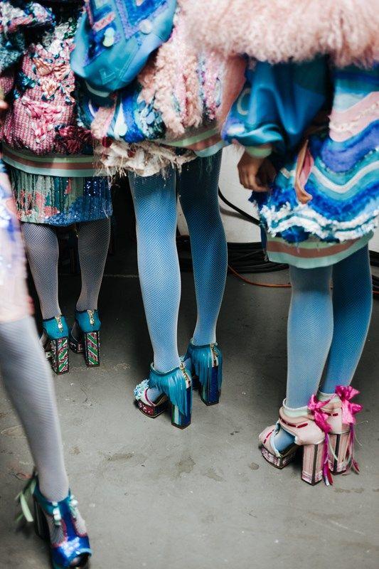 Roberta Einer at Westminster BA Fashion 2015