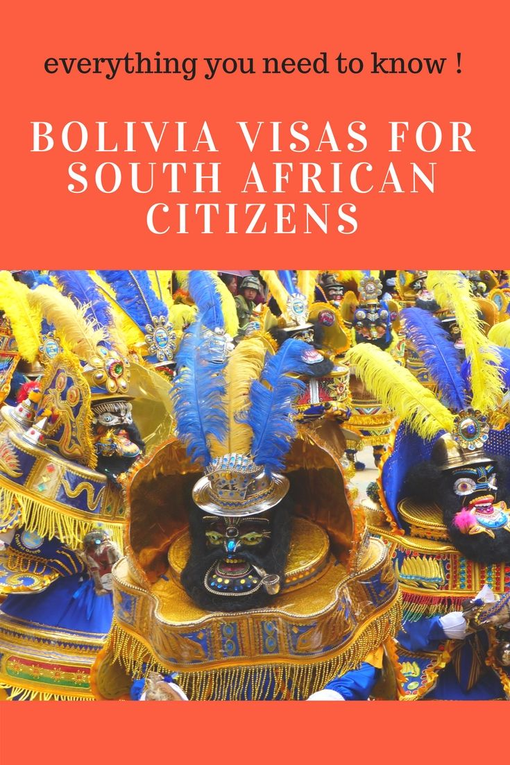 South African Citizens! the Easy guide to obtainng a Bolivian Visa. It's free and super easy. #bolivia #visas #southafrican #citizen #visauponarrival