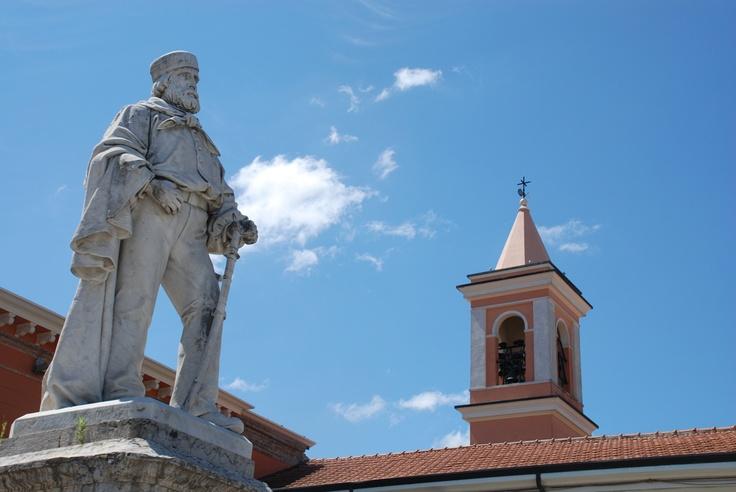 Monumento a Garibaldi en #Cesenatico / Garibaldi Monument in Cesenatico #cesenaticobellavita