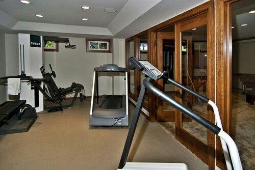 Best basement workout room ideas images on pinterest