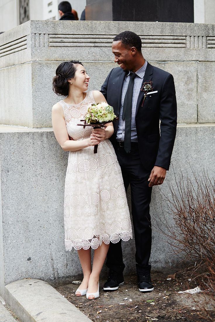 These Gorgeous City Hall Weddings Are Goals