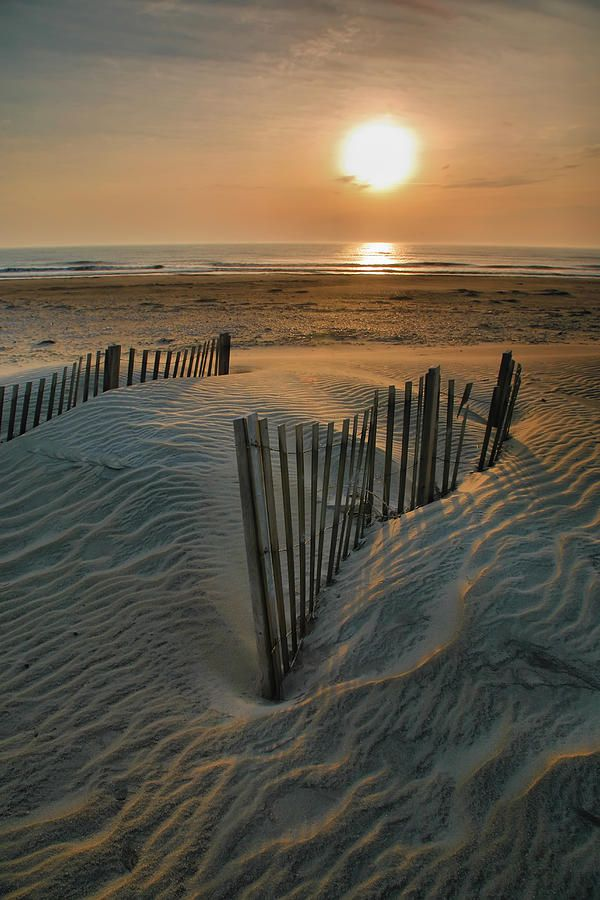 ✮ The sun rises over Hatteras Island in the Outer Banks of North Carolina Love love love it!