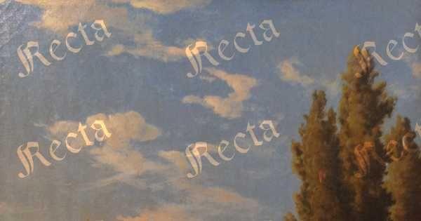 Olio su tela  46cm x 36cm  ♦  Recta Galleria d'arte -  Roma - Pittori e dipinti dell'ottocento e novecento, arte e scultura 800 e primo 900