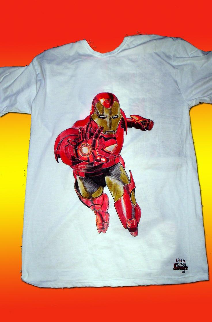 Iron Man tshirt