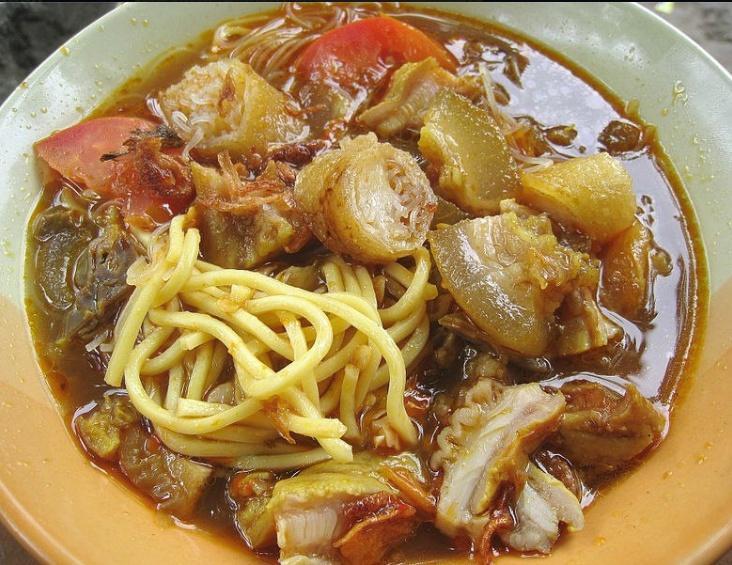 Soto mie Bogor, West Java , Kuliner Indonesia