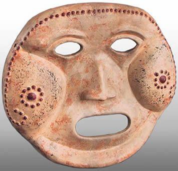 Máscara Calima reproduccion
