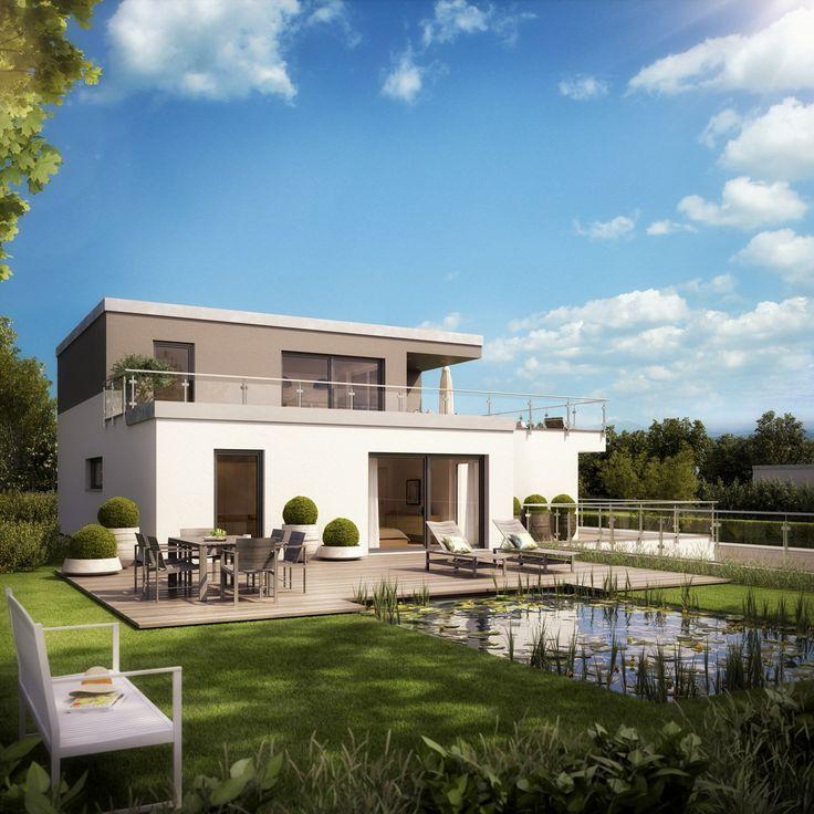 Massiv Bauen Bauhaus Style Haus 20 Pinterest Architecture   Bungalow Huser