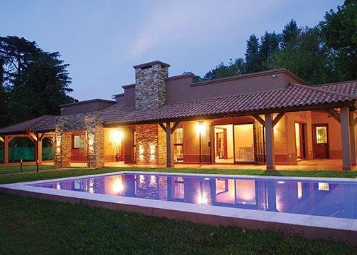 Perretta ocampo arquitectura casa estilo campo moderno - Foraster arquitectos ...