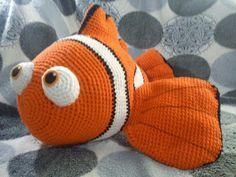 Finding Nemo | The Duchess' Hands, #crochet, free pattern, amigurumi, Nemo, fish, sea, stuffed toy, #haken, gratis patroon (Engels), vis, zee, clownsvis, knuffel, #haakpatroon
