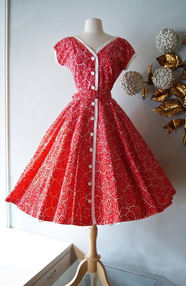 1950s Dress At Xtabay 1950 1060s Rags Pinterest