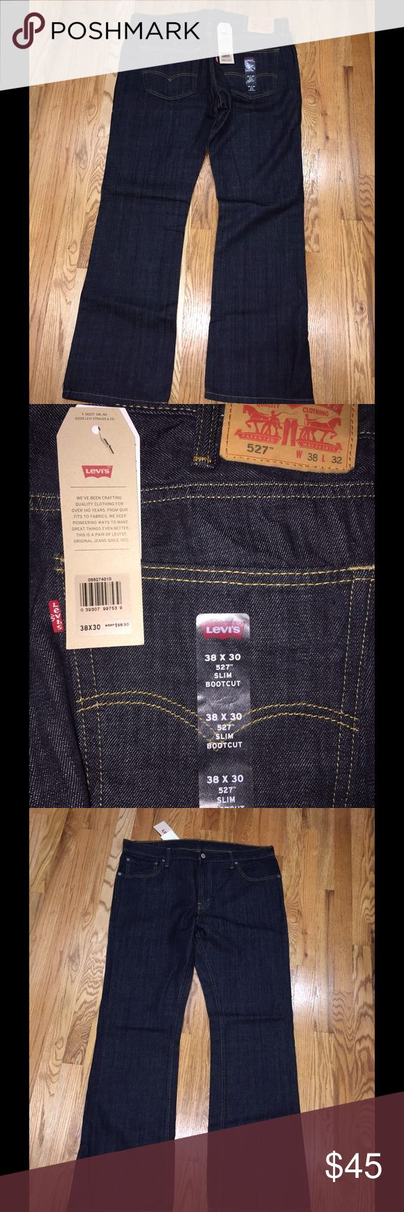 Levi 527 men's jeans New with tags Levi 527 men's jeans. They are size 38x32. Levi's Jeans Bootcut