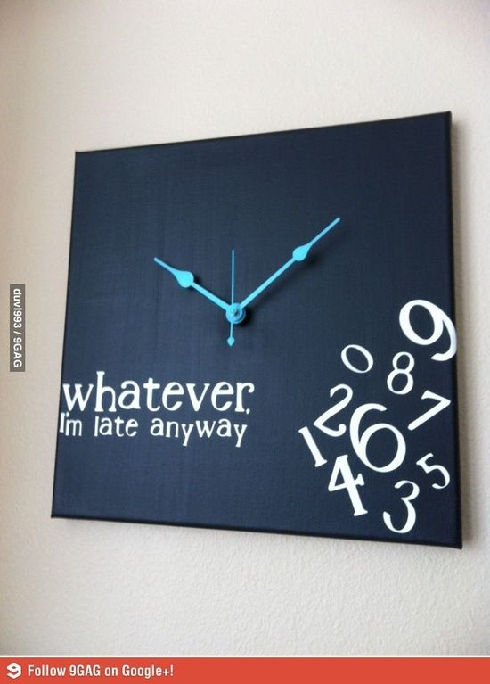 Story of my life @ DIY Home Ideas (this would make a good gift for a couple of people I know!)