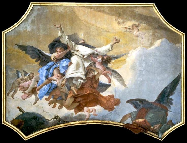Santa Maria del Rosario   Giambattista Tiepolo The Glory of St Dominic.