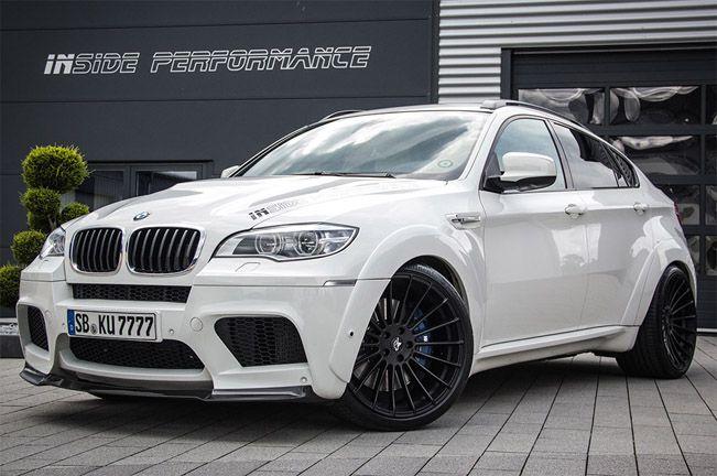 Inside Performance presents its modified BMW X6 M